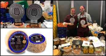 Dos quesos mezcla Pajarete, premiados en el Salón del Queso de Andalucía