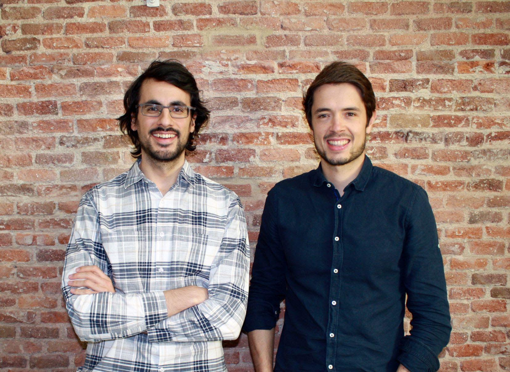 Foto de Daniel Olea (izda.) y Borja Aranguren son los cofundadores de