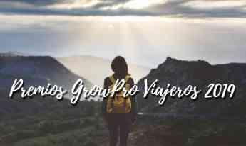Premios GrowPro Viajeros 2019