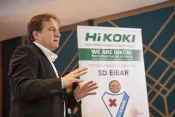 HiKOKI sigue estrechando sus lazos con la SD Eibar