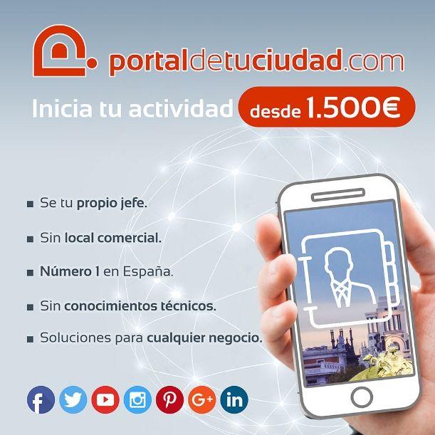 PORTALDETUCIUDAD.com presente en Expofranquicia 2019