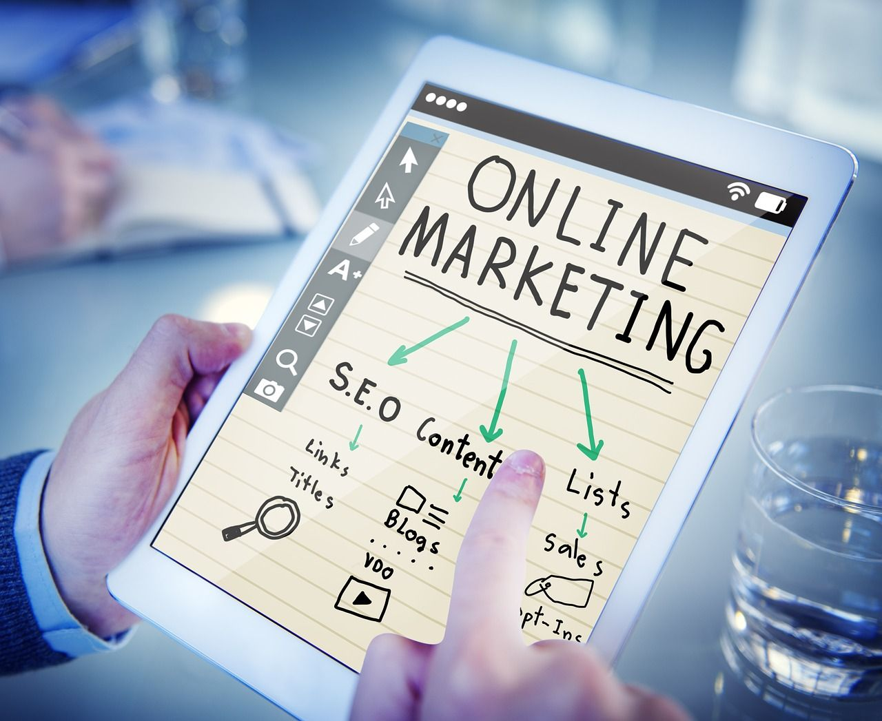 Foto de Online Marketing