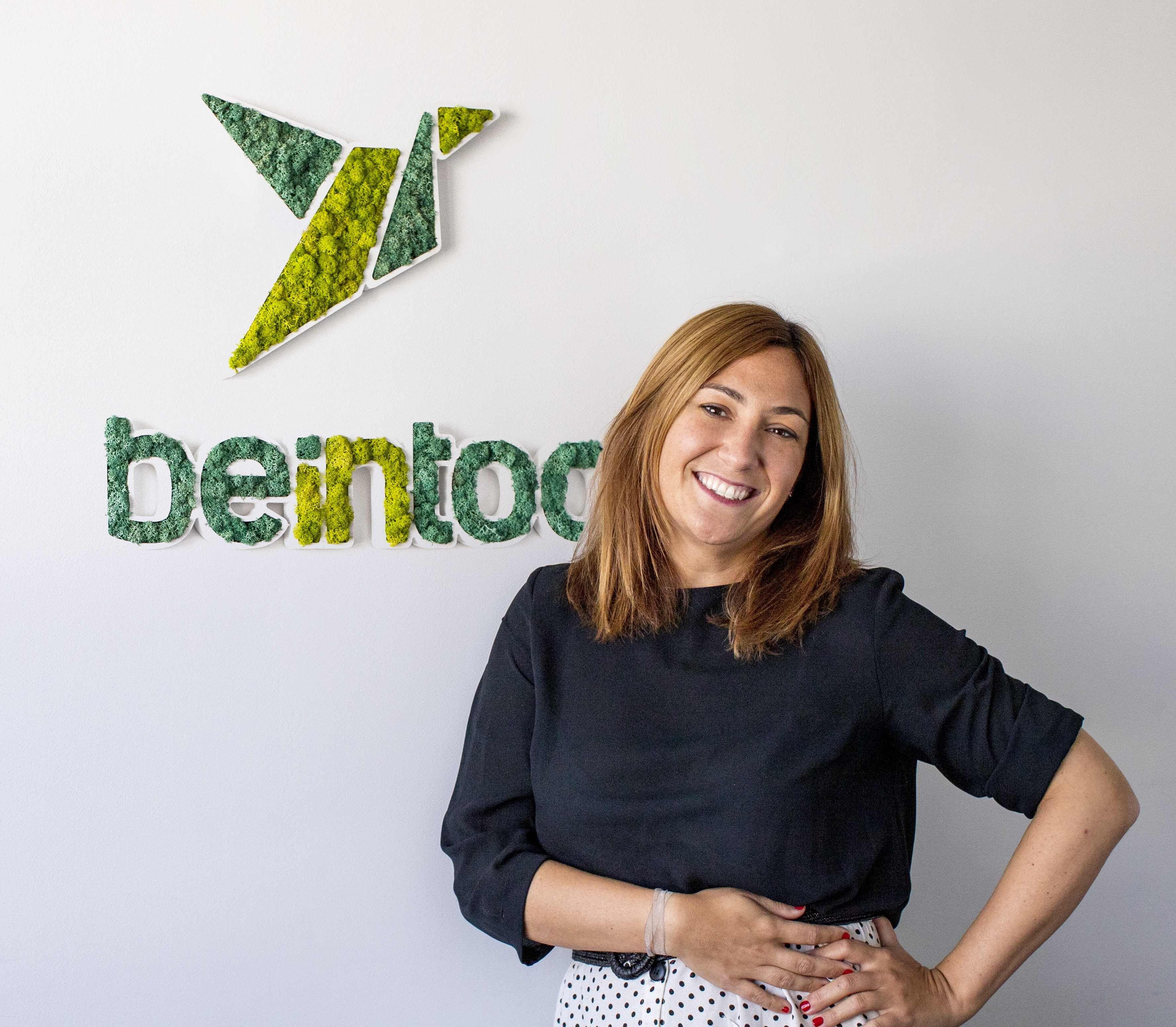 Fotografia Patricia Cañada, Sales Director de Beintoo España