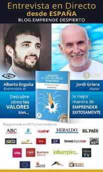 Alberto Enguita entrevista en directo a Jordi Griera para su canal