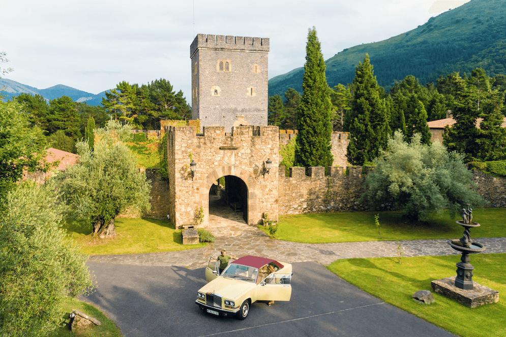 Torre Loizaga alberga una de las mayores colecciones de Rolls-Royce de Europa