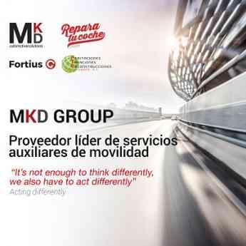 Grupo MKD Fortius, red de reparación de carrocería seleccionada por ALD