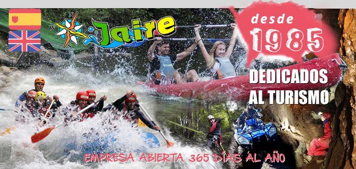 Jaire Aventura dispone de nuevas actividades y deportes de aventura para esta primavera