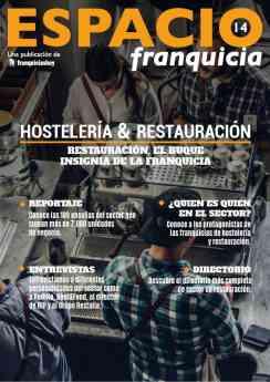 Revista Espacio Franquicia Hostelería y Restauración