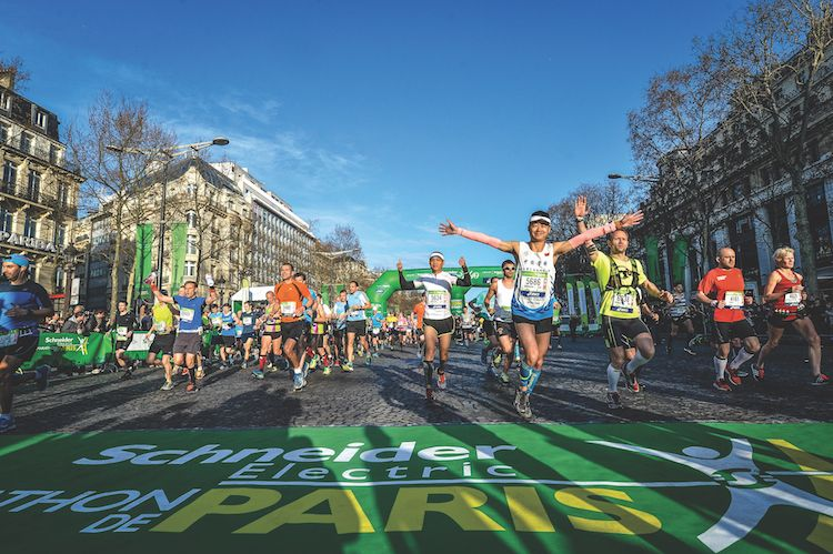 Foto de Paris Marathon_Schneider Electric