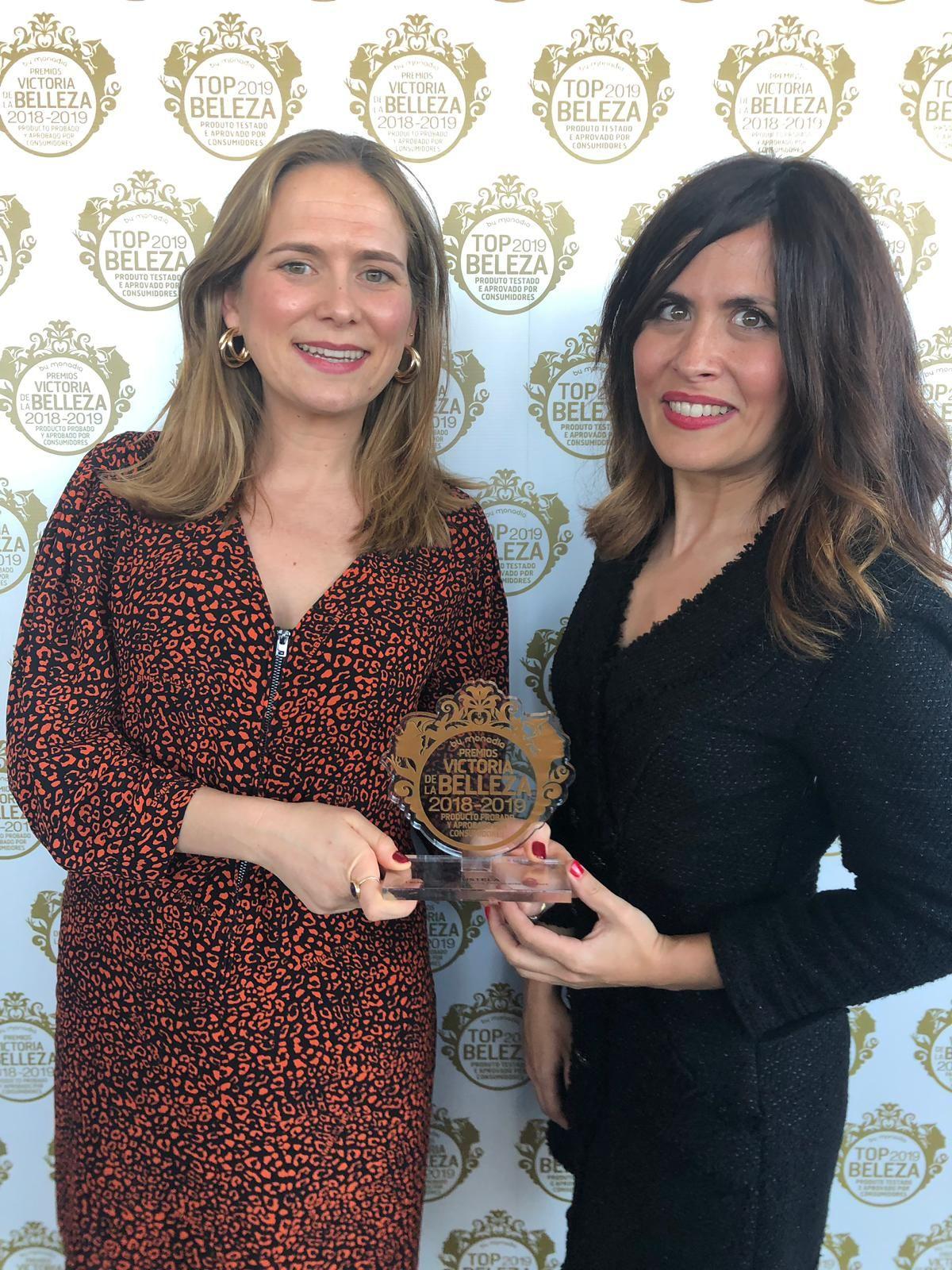 Foto de Mustela, galardonada con los Premios Victoria de la Belleza