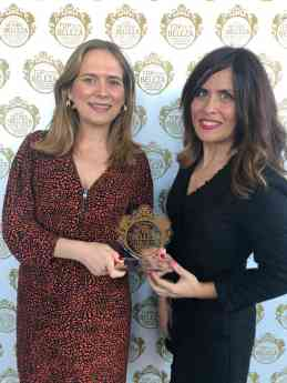 Mustela, galardonada con los Premios Victoria de la Belleza