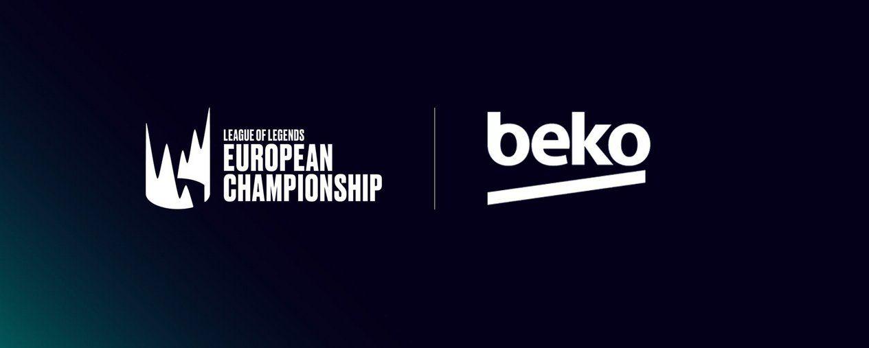 Foto de Beko, nuevo patrocinador de la LEC