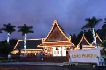 Loro Parque apaga las luces durante 'La Hora del Planeta'