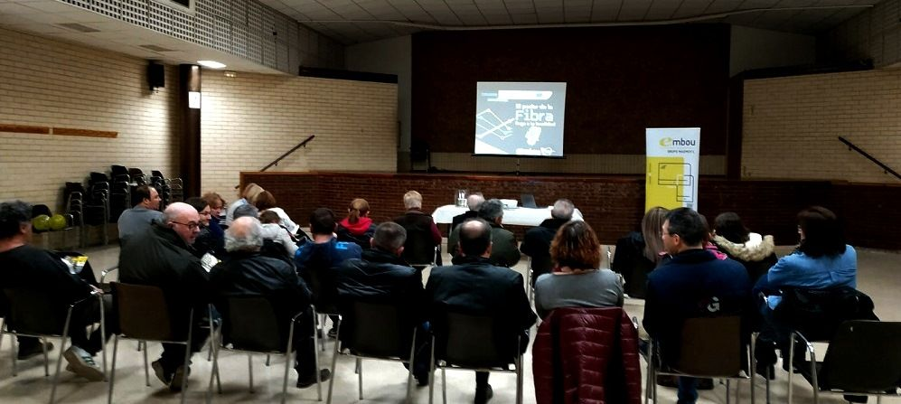 Foto de La fibra óptica llega a numerosos municipios de Huesca con