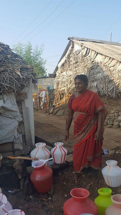 Foto de AVEDA financiará siete pozos de agua potable en India de la