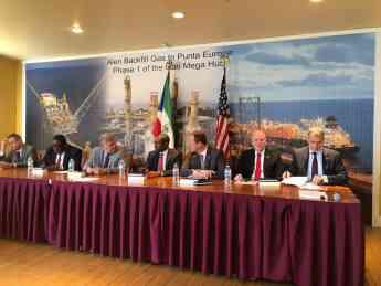 Alen Backfil Gas to Punta Europa