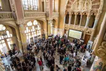 El recinto Modernista de Sant Pau, sede de la presentación en Barcelona