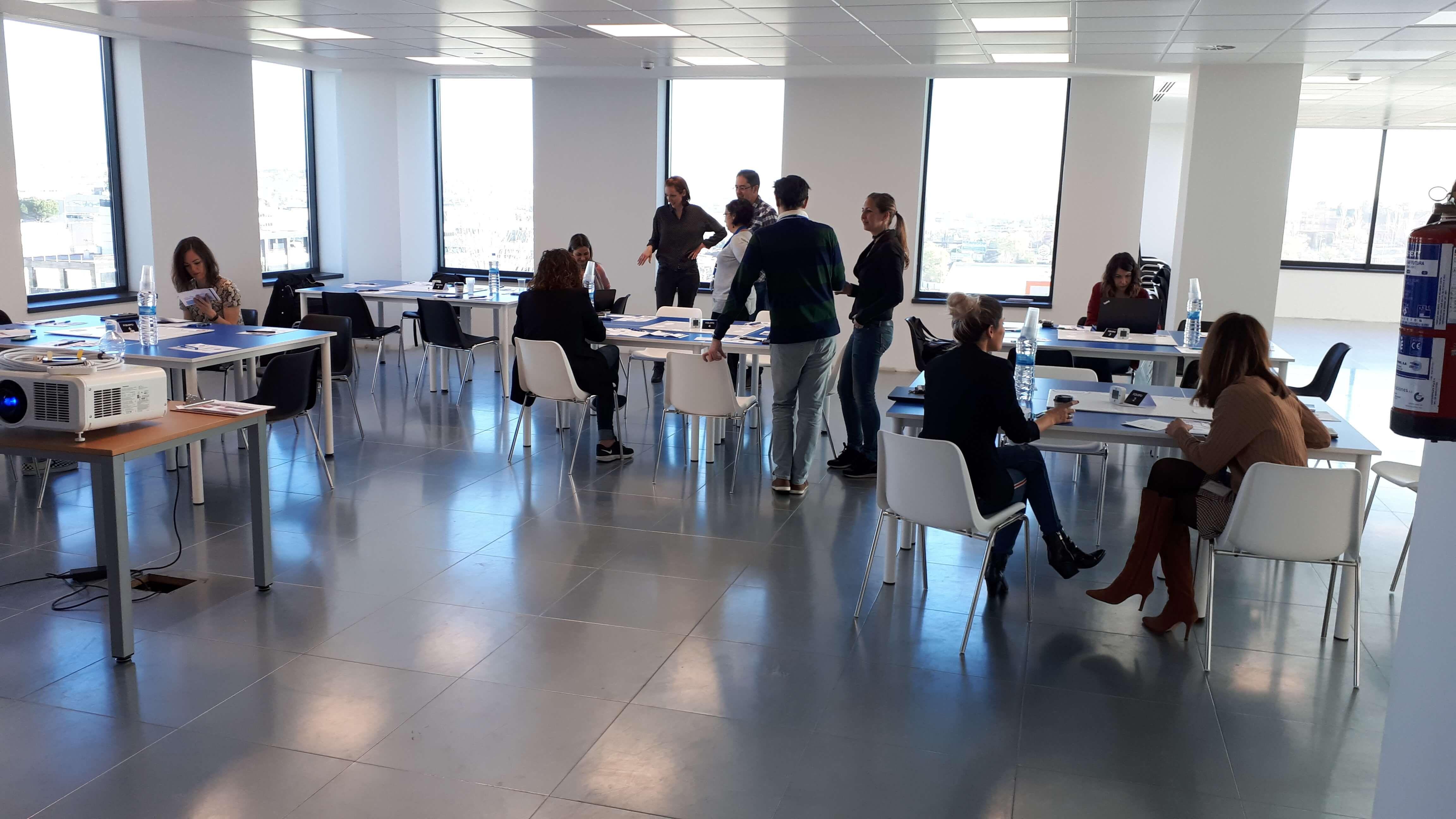 Foto de Equipos de trabajo en los bootcamps de VASS