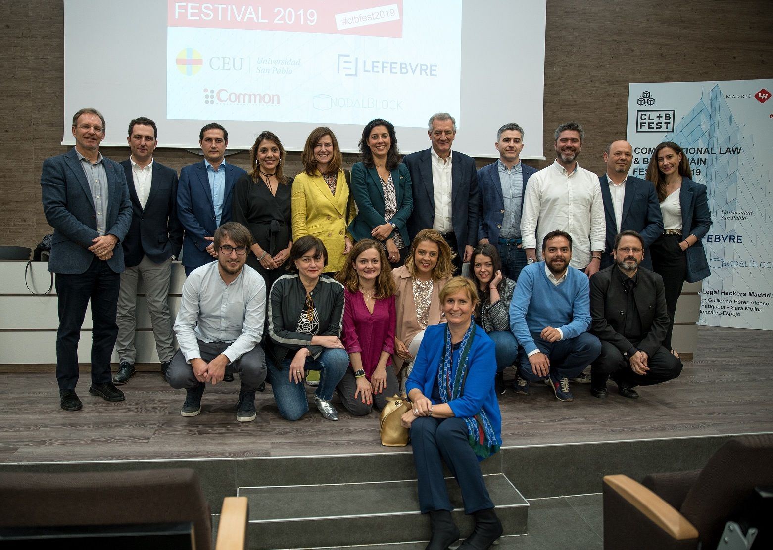Foto de Computational Law & Blockchain Festival