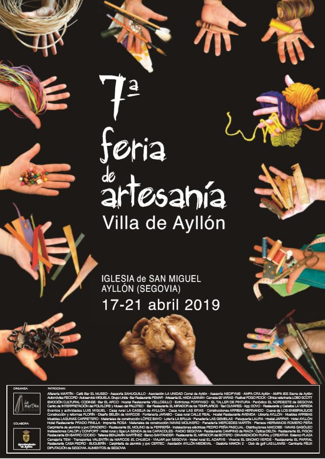 Foto de Cartel Feria de Artesanía