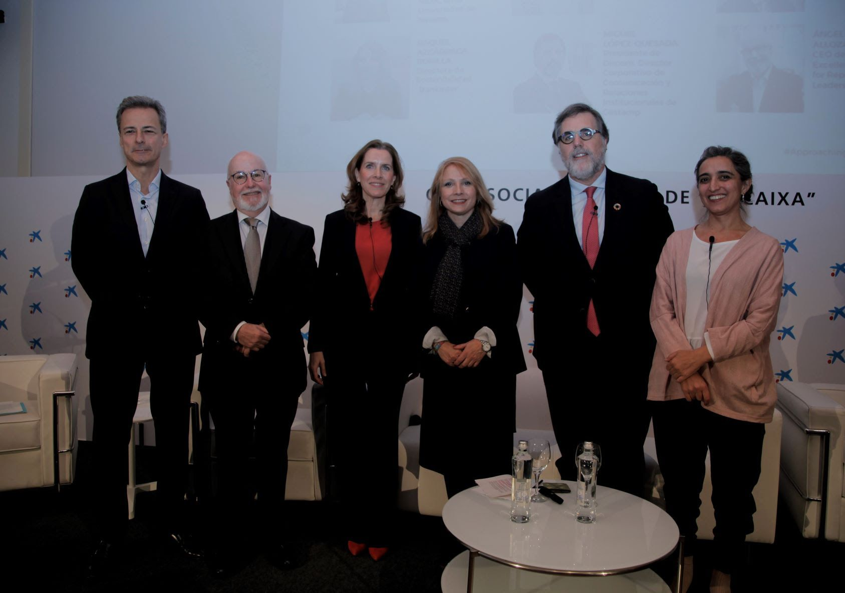 Foto de Presentación del Informe Approaching the Future 2019