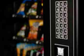 Foto de máquina expendedora