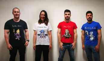 Gamisetas, las camisetas que enseñan a comer sano
