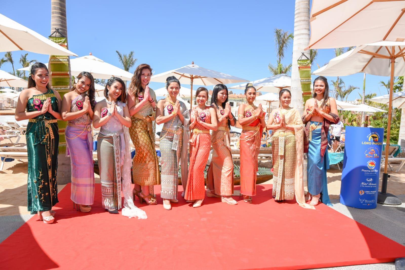 Fotografia Songkran en Siam Park
