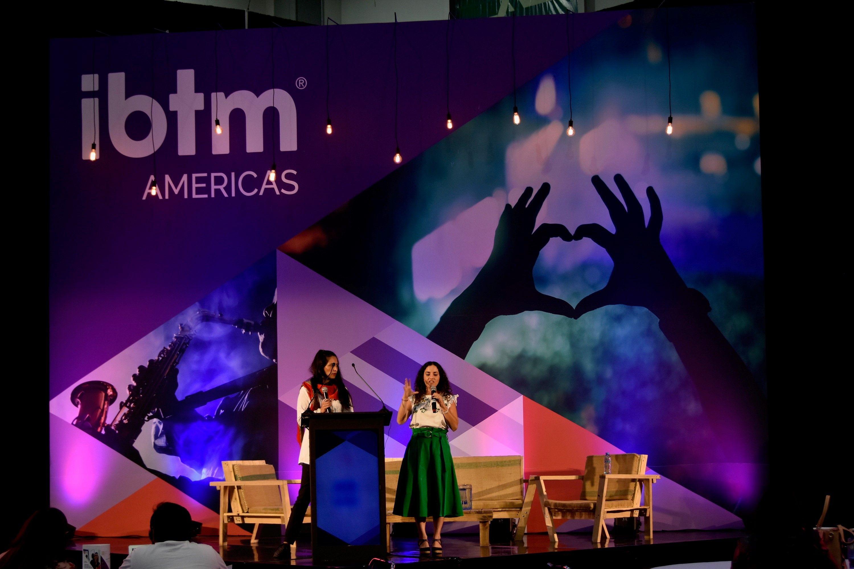 Fotografia Ponencias IBTM Americas 2018