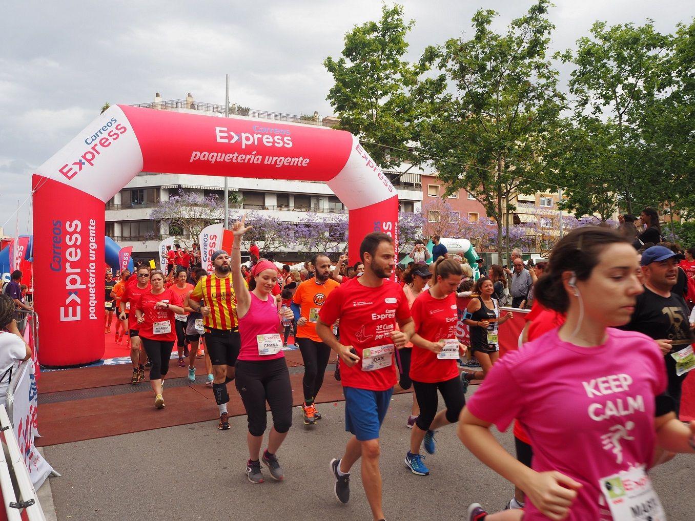Correos Express vuelve a apoyar a los afectados por la ELA con una carrera solidaria