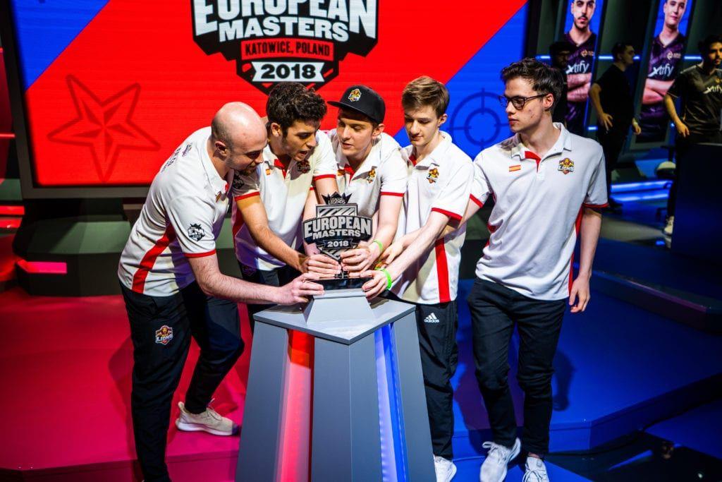 Foto de Mad Lions, último campeón de European Masters 2018