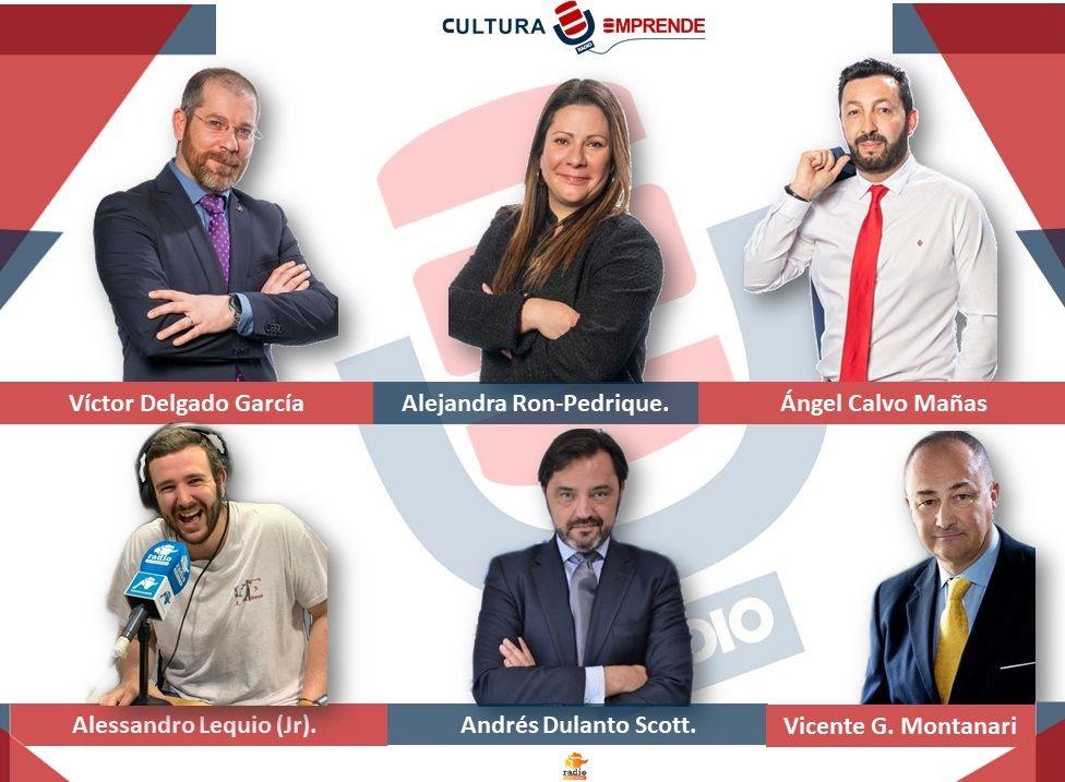 Cultura Emprende Radio ficha nuevos colaboradores.