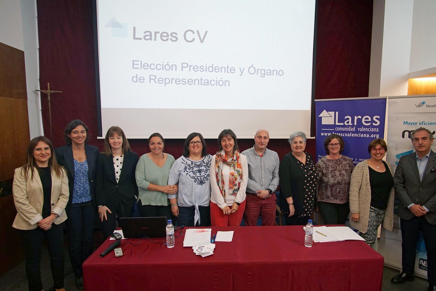 Foto de Nueva Presidencia y Órgano de Representación de Lares CV