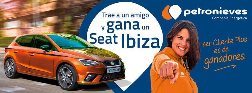 Petronieves regala un SEAT Ibiza entre sus clientes Plus