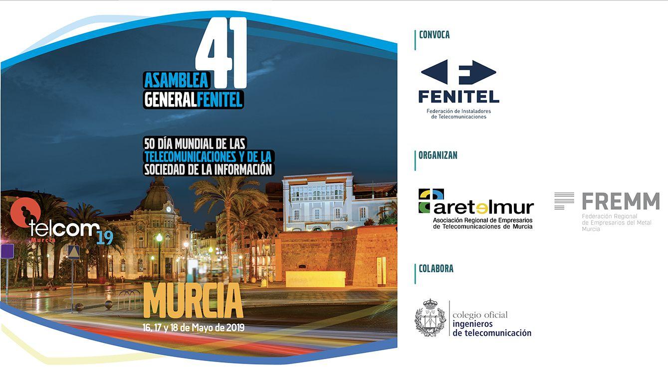 Fotografia Congreso Telcom19 Murcia