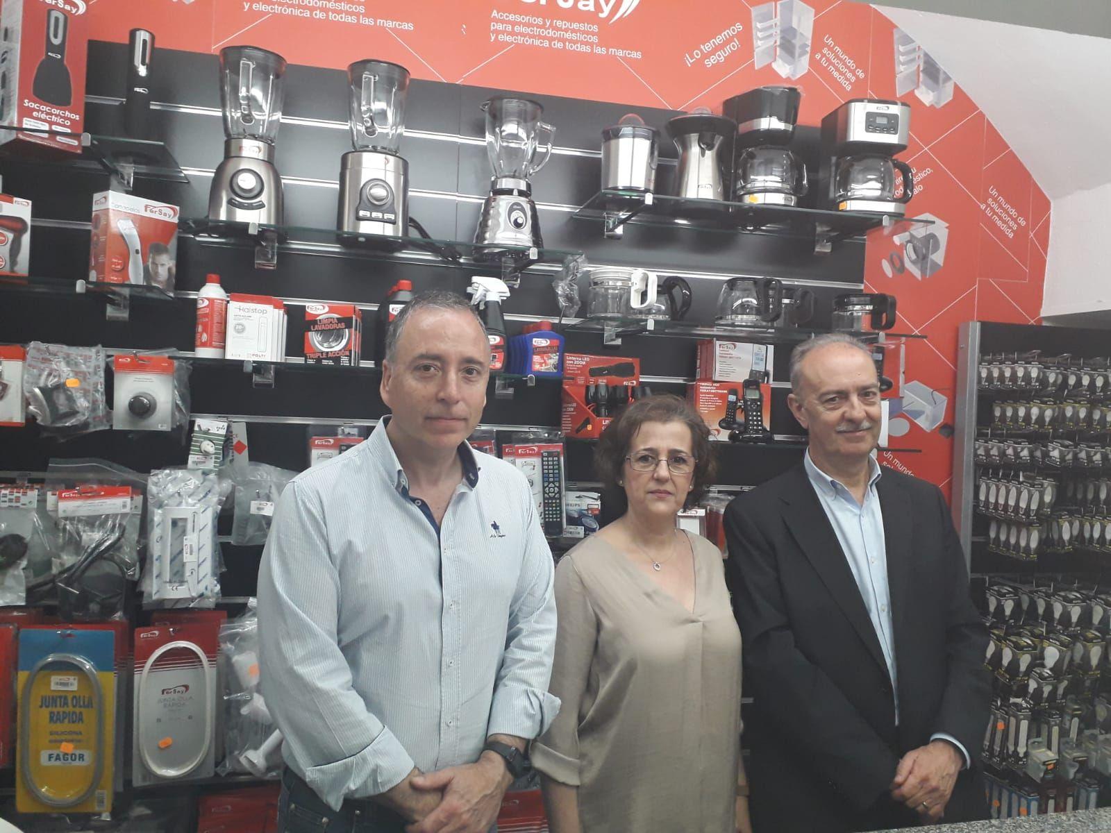 Fersay inaugura un nuevo corner en Villafranca de los Barros, Badajoz