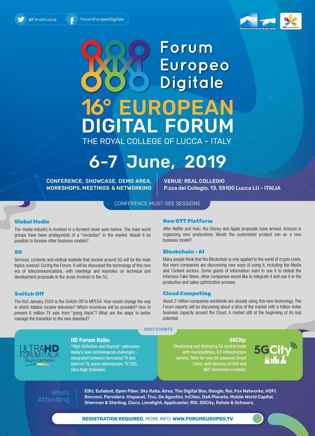 Foto de 16º Forum Europeo Digital
