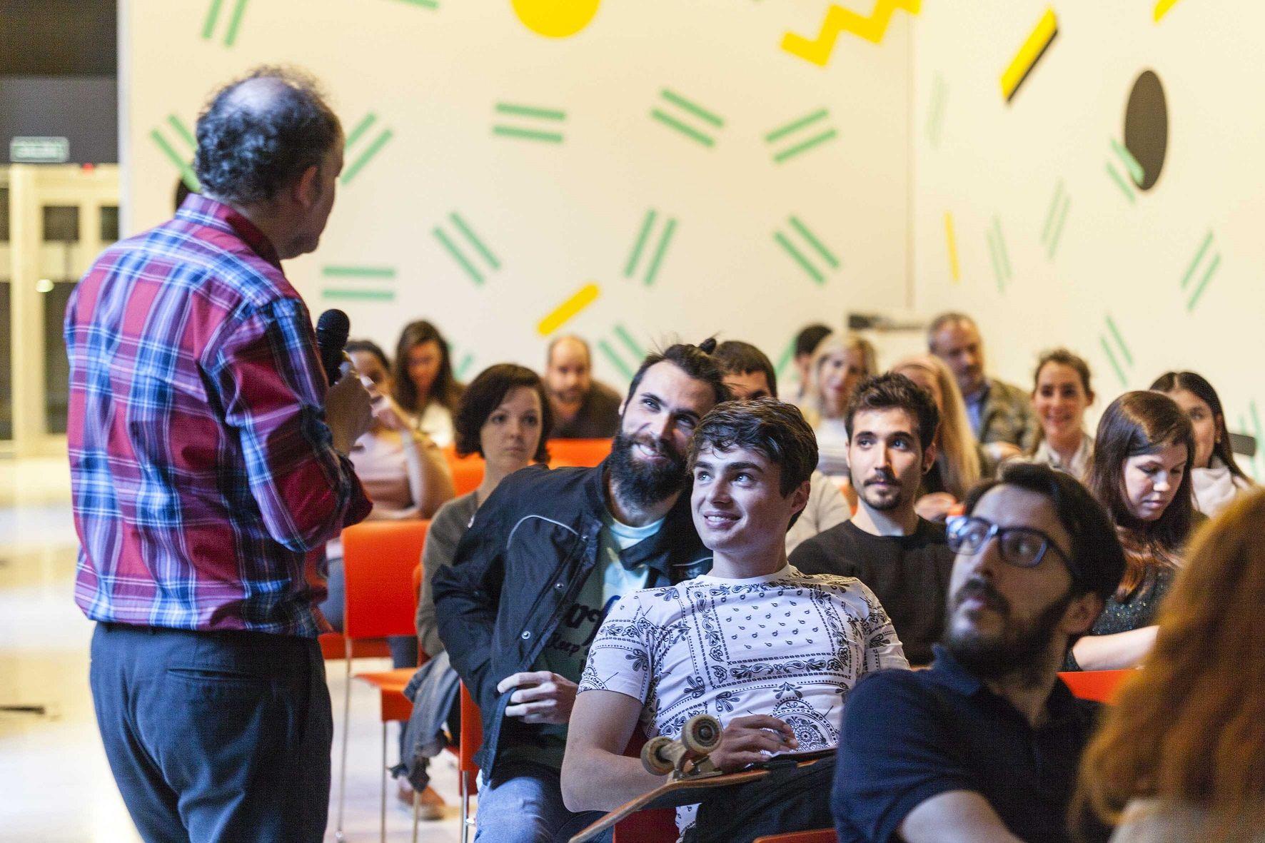 Fotografia Charlas en torno al diseño, en el Design Fest