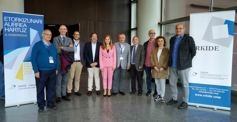 Foto de  FOTO: La consejera de Trabajo y Justicia del Gobierno Vasco,