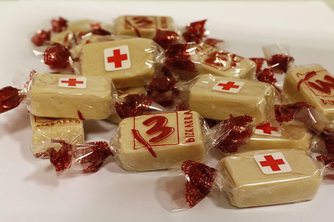 Bizkarra colabora con Cruz Roja Bizkaia impulsando la venta del Sorteo de Oro