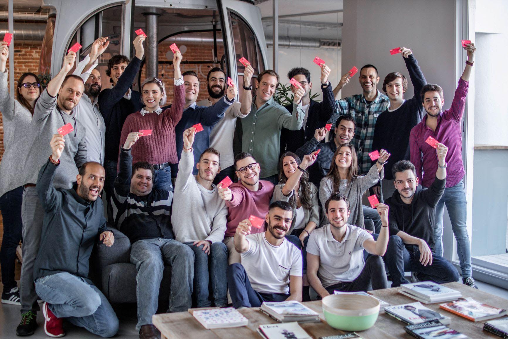 Foto de Una representación del equipo de Bnext, formado ya por 50