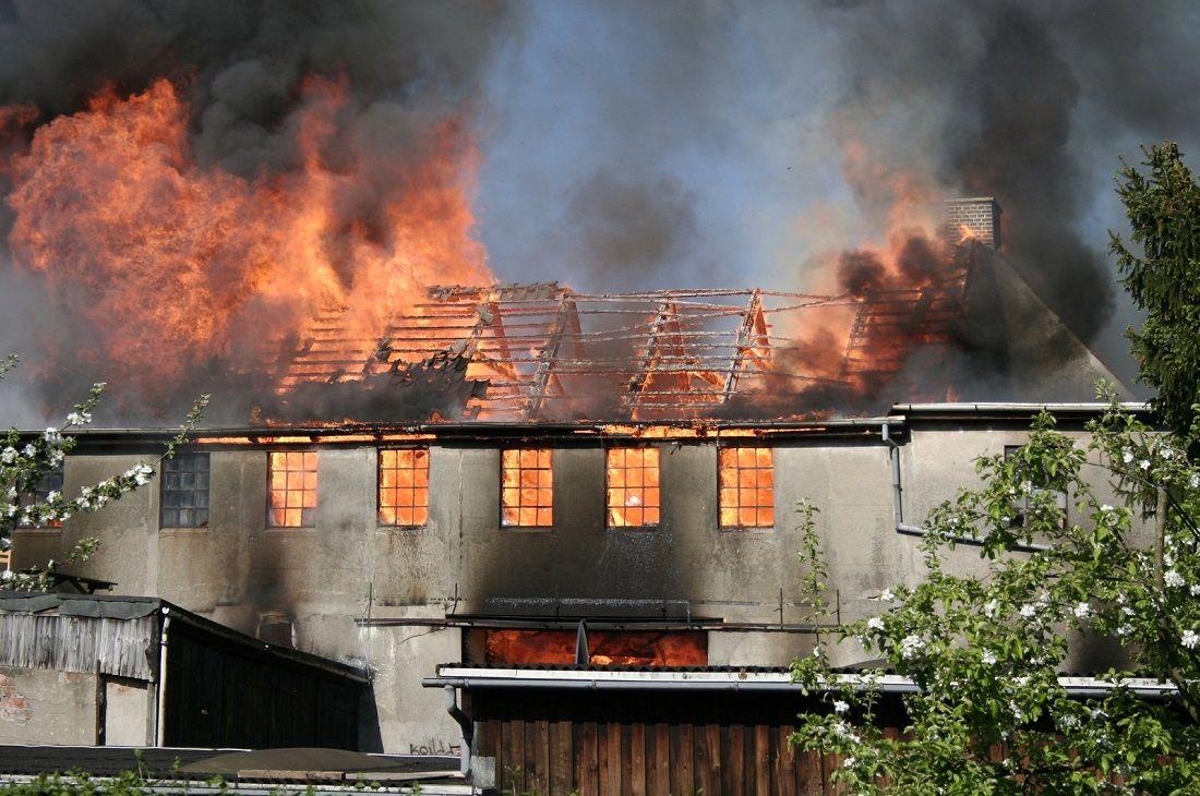 Foto de 11 de mayo, Día contra los Incendios Domésticos.