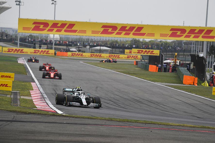 Foto de DHL Socio oficial de la Fórmula 1