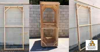 Premarcos de madera: principales sistemas de fijación de Embalajes Guadaíra