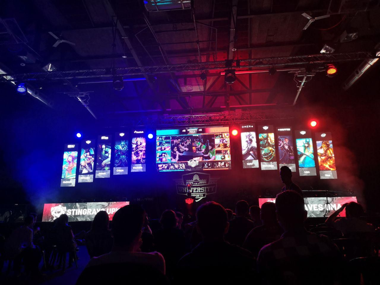 Foto de Final de League of Legends de University Esports