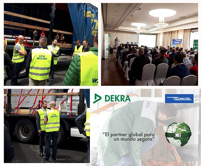 Foto de Seminario de formación entre DEKRA y LKW