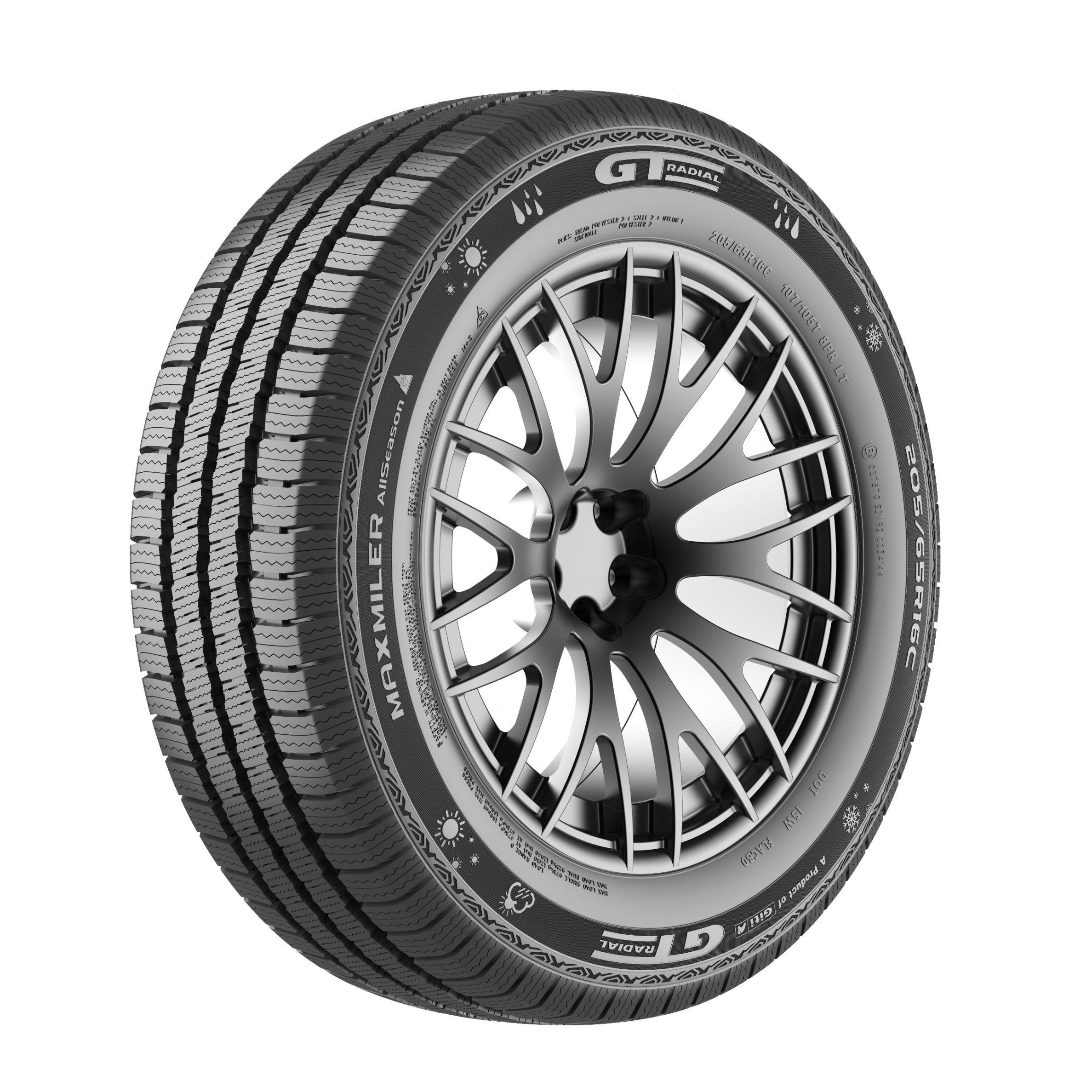 Giti Tire lanza el GT Radial Maxmiler AllSeason para los mercados europeos de furgonetas y camiones ligeros