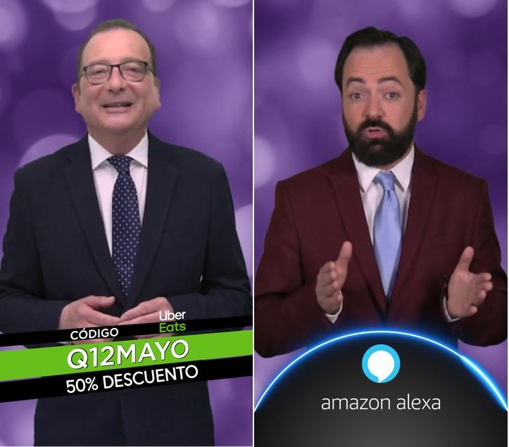Foto de Los presentadores Juanjo de la Iglesia (izda.) y Toni Cano,