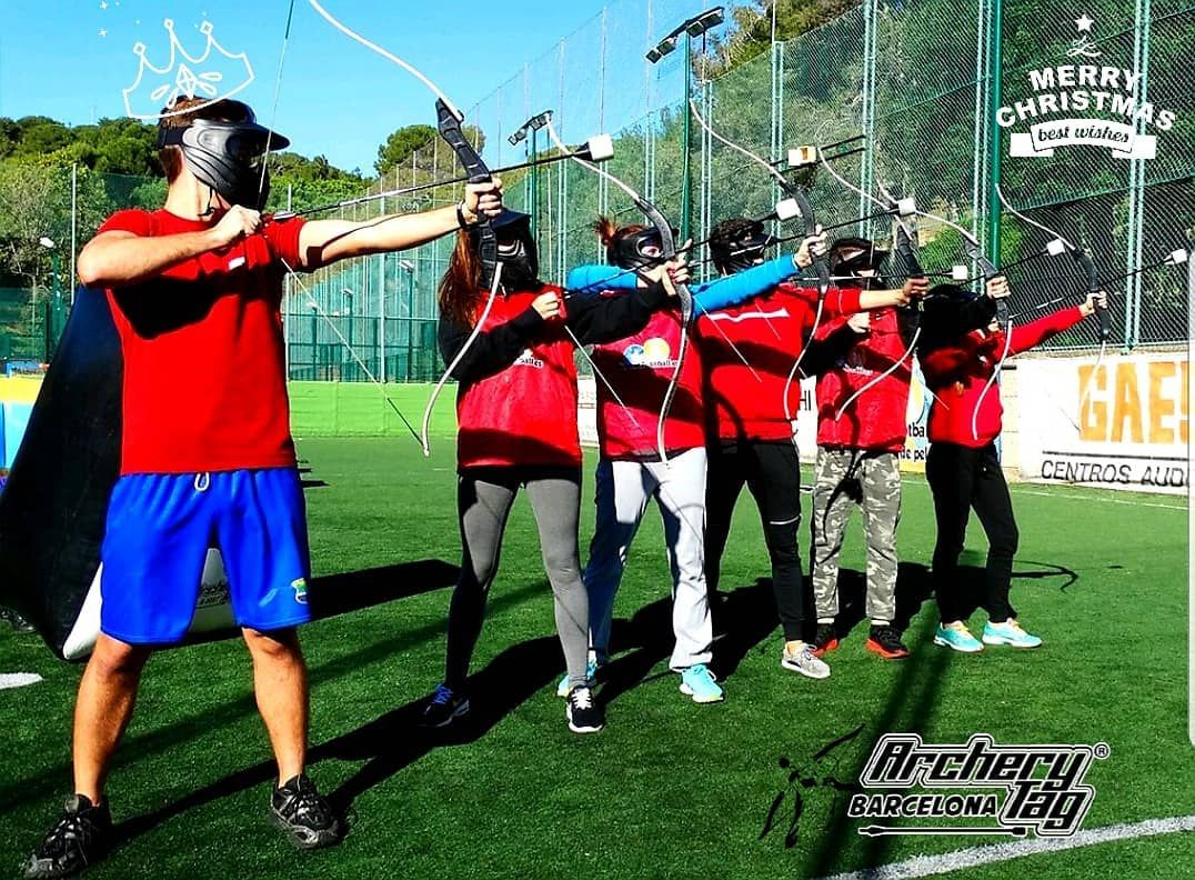 Fotografia Archery Tag