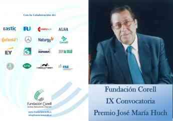 Premio José Mª Huch de la Fundación Corell
